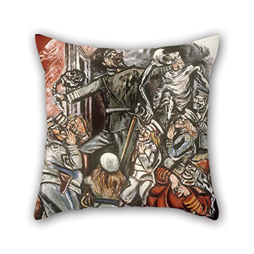 [16 X 16 Inches / 40 By 40 Cm Oil Painting José Clemente Orozco - The Demagogue Pillow Shams,2 Sides Is Fit For] (Toga Costumes Patterns)
