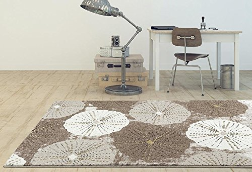 6058 Beige 7'10×10'6 Area Rug Carpet Large New