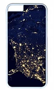 America Space Nice Map Thanksgiving Halloween Masterpiece Limited Design PC White Case for iphone 6 pluse by Cases Mousepads by icecream design
