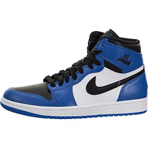 e91940ae08229 Galleon - Nike Mens Air Jordan 1 Retro High Basketball Shoe Soar Black-White  9