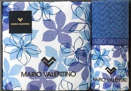 Mario Valentino (Mario Valentino) [blanca] toalla de baño (1P e cara