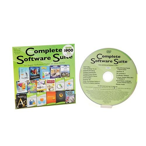 Pc Treasures Complete Software Suite 50884