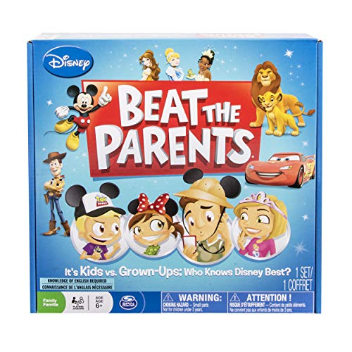Spin Master Games Disney Beat the - Parents The Board Game Beat