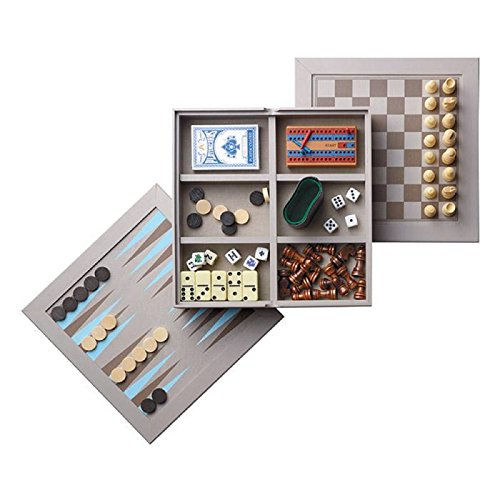 WINTER SOFT 7-IN-1 BOARD GAME SET by AVON