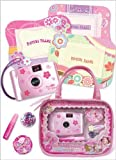 Pecoware Fancy Butterfly Camera and Picture Frame Set