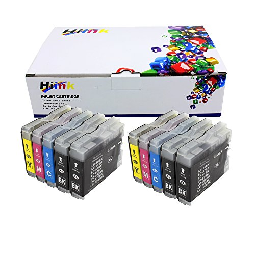Brother Lc51 Compatible Ink - HIINK Compatible Ink Cartridge Replackement for Brother LC51 LC 51 Ink Cartridges use with MFC-230C MFC-240C MFC-3360C MFC-440CN MFC-465cn MFC-5460CN MFC-5860CN MFC-665CW MFC-685cw MFC-845CW (10 PK)