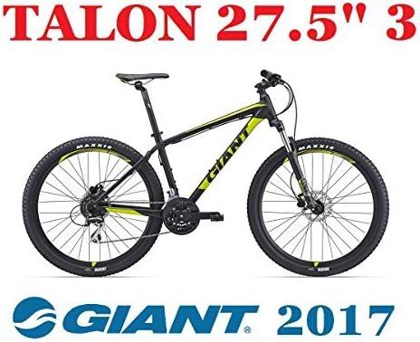 Bicicleta GIANT 2017 MTB AMORTIGUADO TALON 27,5