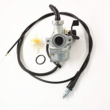 Carburetor /& Intake Manifold Air Filter /& Handle Grip For Honda CRF70F 2004-2012