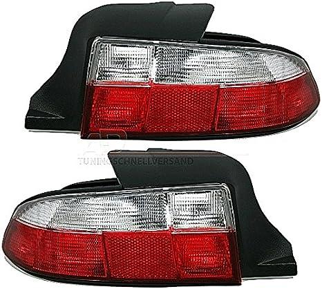 Eagle Eyes Rückleuchten Set In Rot Weiß Auto
