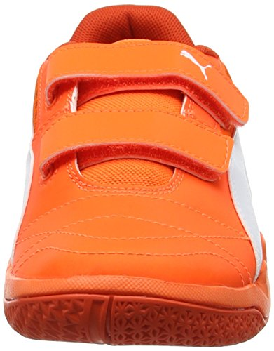 Puma white Niños Veloz Unisex Ng cherry V Indoor Orange Zapatillas shocking Tomato Deportivas Jr Naranja rrgWCq7xH