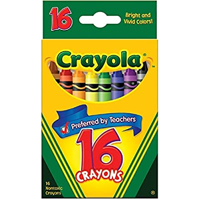 Crayola Classic Color Pack Crayons 16 ea (Pack of 8): Toys & Games