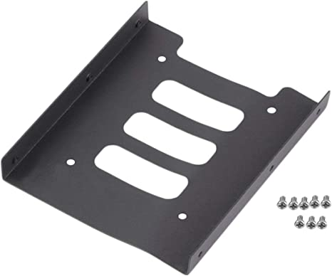 Profesional 2.5 a 3.5 SSD a HDD Adaptador de Metal Soporte de ...