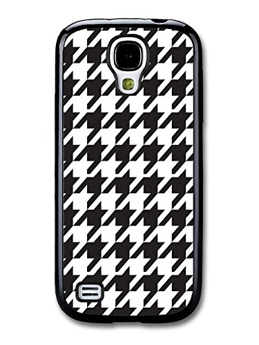 Hound's Tooth Black And White Cool Hipster Style Design coque pour Samsung Galaxy S4 mini