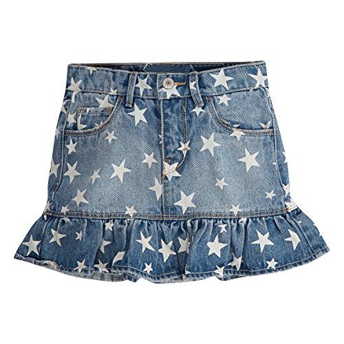 Levi's Girls' Little Denim Scooter Skirt, Nirvana, 6]()