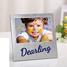 Metal table picture frame Creative children couple photo frame A 10.2x15.3cm(4x6inch)