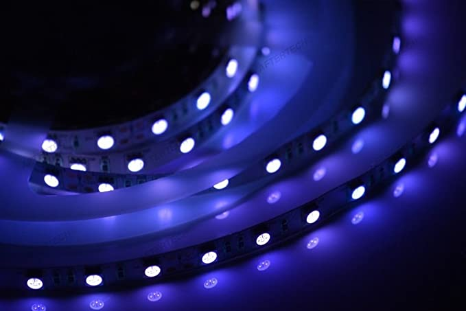 Aftertech m uv w strip striscia led smd ultravioletto