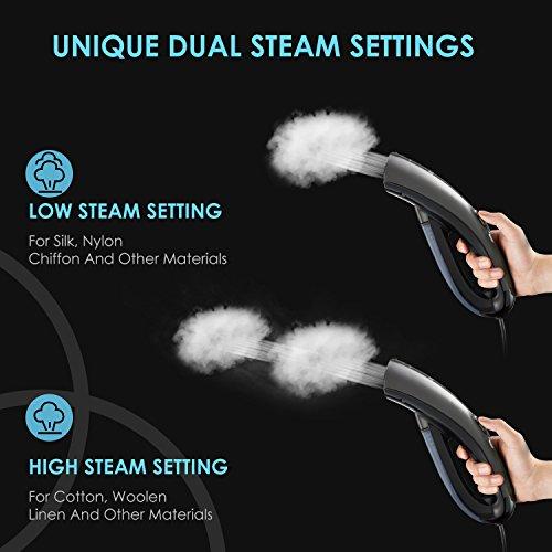 Aicok Steamer For Clothes Dual Steam Setting Travel