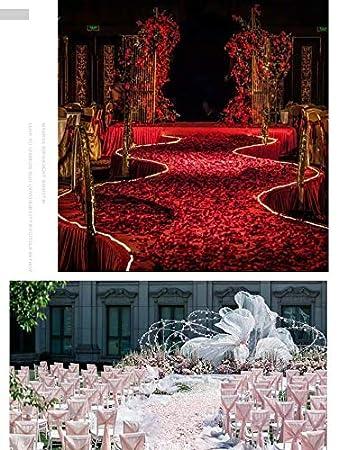 5CM Wei/ß Rosenbl/ätter,1000 Pack Seide K/ünstliche Rosenbl/üten Romantische Dekoration f/ür Hochzeit Valentinstag Konfetti Tisch Streuung 5