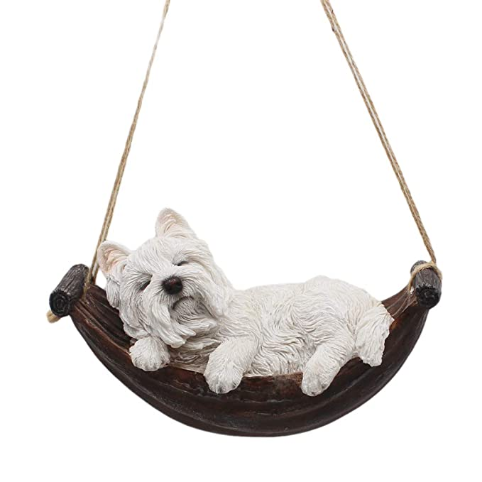 CITONG Hanging Puppy Dog Statue