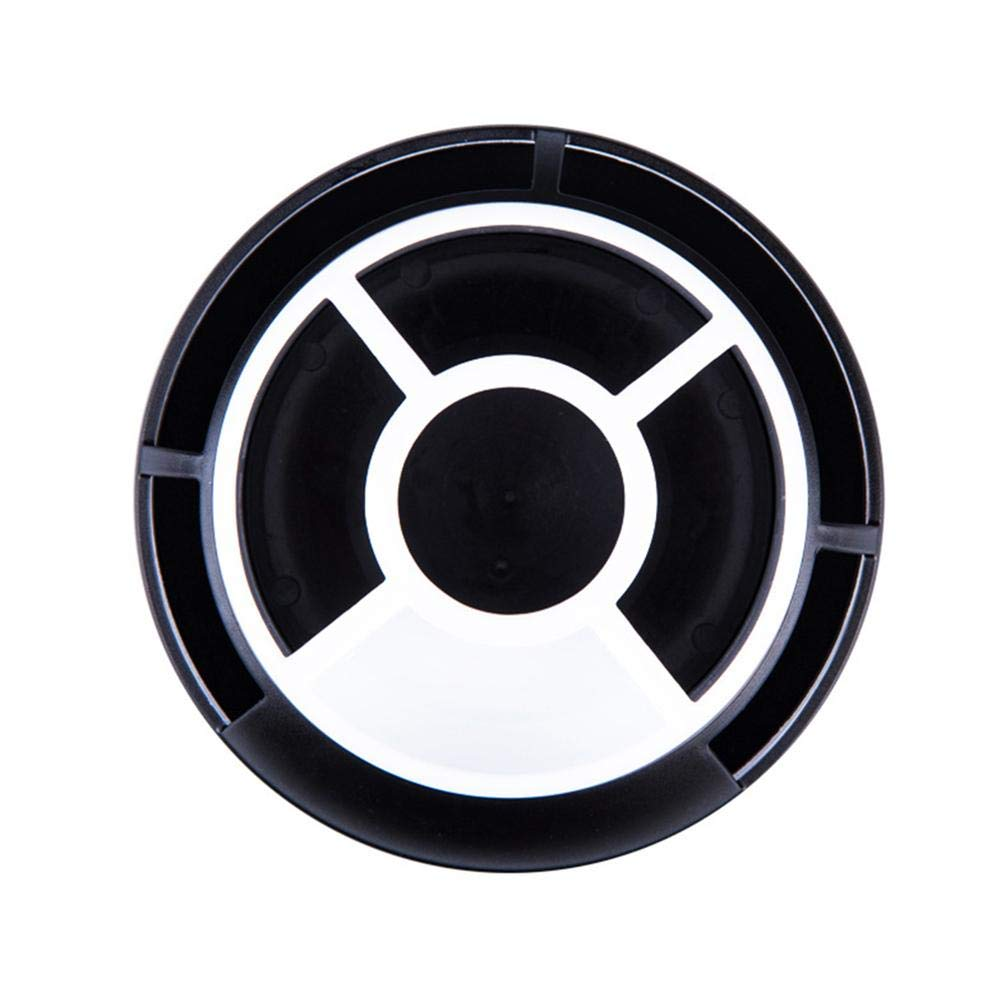 tazza da pentola da scrivania creativa organizzatore di cancelleria da tavolo ordinato girevole girevole a 360 /° Organizzatore da scrivania con supporto per penna rotante rotondo multiuso