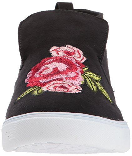 Granita Memory Black Women's w Embrod Bootie Flower Foam Sugar 5qZtxa