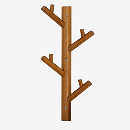 LJHA Estilo de árbol Creativo montado en la Pared Percha ...