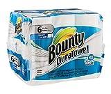 Bounty DuraTowel Paper Towel Rolls - 6 ct