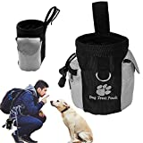 Pets Corner Market Dog Pet Puppy Obedience Agility Bait Training Food Treat Pouch Bag Built-In Poop Bag Dispenser Snack Reward Waist Bag