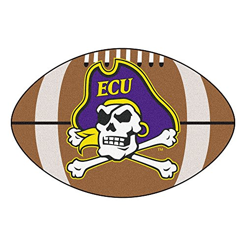 Carolina Rug East Pirates - East Carolina University Football Area Rug