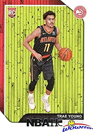 Trae Young 20182019 Panini Hoops 250 Rookie Card In Mint Condition