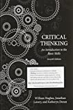 Critical Thinking, William Hughes and Jonathan Lavery, 155481197X