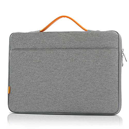 Cheap 13 13.3 Inch Laptop Sleeve Bag, JOKHANG Protective Carrying Case Handbag for iPad Pro 12.9 / MacBook Air / Pro (Retina) / Surface Book And More - Grey free shipping