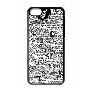 Hot FOB Rock Band Fall Out Boy Posters Hard Plastic phone Case Cove For Iphone 5c JWH9164451