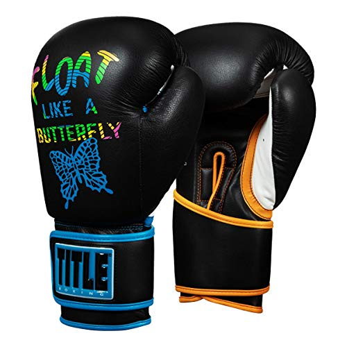 Title Boxing ALI Float Sting Training Gloves, Black, 16 oz