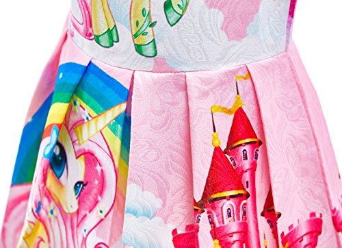 Dressy Daisy Girls My Little Pony Dress Costumes Unicorn Costumes Fancy Dress up Size 6 Pink FC127 by Dressy Daisy (Image #5)