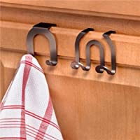 Spectrum Diversified Over the Cabinet Door Double Hook, Bronze