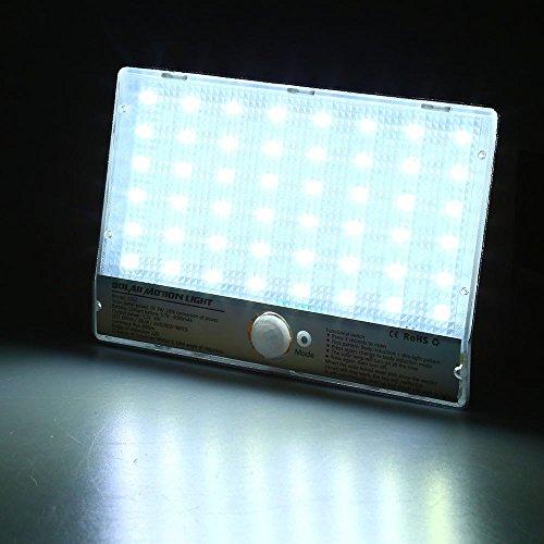 - New Professinal 48 LEDs Solar Powered Motion Sensor Lamp Human body Induction Lighting Waterproof 3.2V 4W Outdoor Street Light