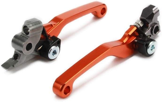 Color : Orange ZLDDE Accesorios de Moto Motocicleta 2020 CNC Freno de Embrague de Palanca for KTM EXC EXCF Seis d/ías EXCR XC XCF XCW XCFW SX SXF 125 144 150 200 250 300 350 450 500 Motocicleta