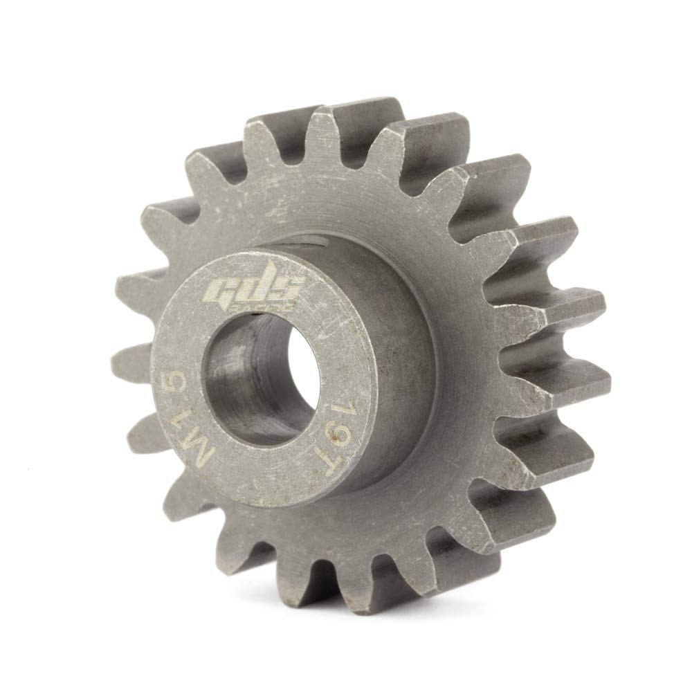 17T GDS Racing 8mm Shaft MOD 1.5 M1.5 Pinion Gear for FG//HPI//Losi /& More