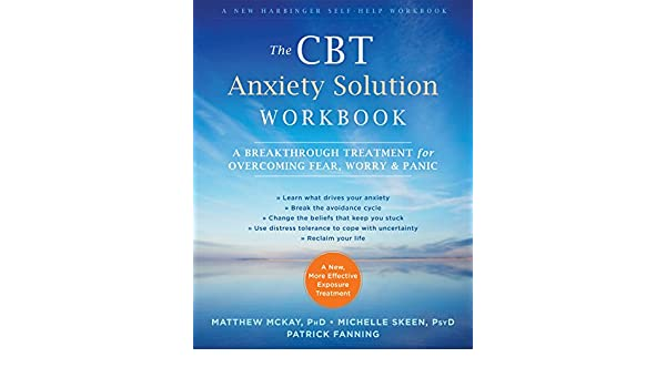Amazon.com: The CBT Anxiety Solution Workbook: A Breakthrough ...