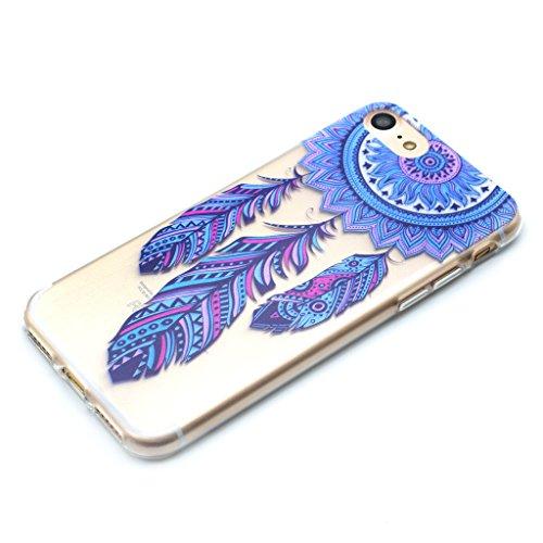 iPhone 6 6S Cover , YIGA Dreamcatcher Silicone Cristallo Morbido TPU Case Custodia per Apple iPhone 6 6S 4.7