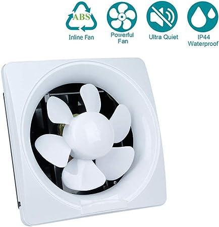 YUN Extractor Fans@ La energía Baja Cocina baño silenciosa Campana extractora 200 mm con extracción de ventilación de cordón,10inch: Amazon.es: Hogar