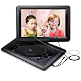DR.J 14.1 inch 7 Hours Portable DVD Player, with Build-in...