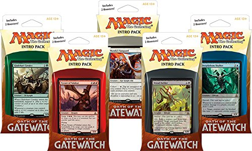 SET OF ALL 5 INTRO DECK PACKS - Oath Of The Gatewatch MTG OGW Magic The Gathering by Magic: the Gathering