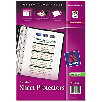 Amazon avery mini business card pages clear 55 x 85 inches avery heavyweight diamond clear sheet protectors for mini binders 85 x 55 acid free 25ct 77004 colourmoves