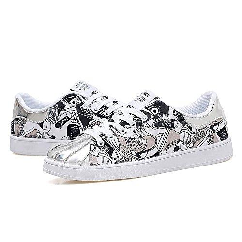 Shufang Mocassini Black And shoes Uomo White 7r5q7fnawA
