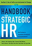 img - for Handbook for Strategic HR - Section 3: Use of Self as an Instrument of Change book / textbook / text book