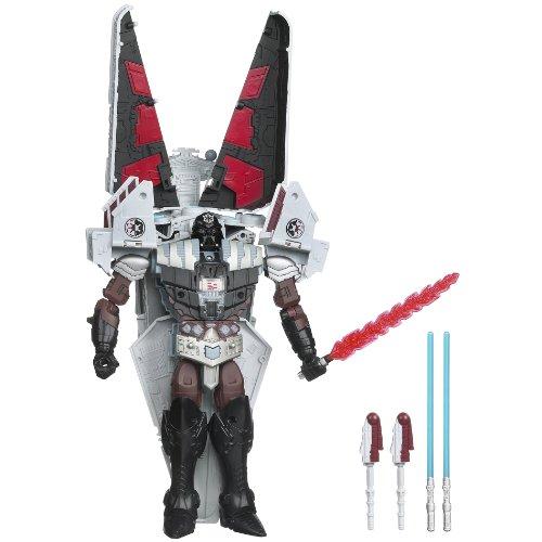 Star Wars Transformers Class III DARTH VADER TO STAR DESTROYER