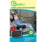 #1 Best SAMRO Car Sun Shades Exclusive (Pack of 2) Size 19
