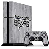 San Antonio Spurs PS4 Console and Controller Bundle Skin - San Antonio Spurs Hardwood Classics | NBA X Skinit Skin